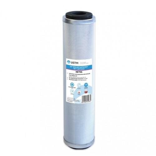 """Wkład siatkowy 10"""" NETSS do gorącej wody z siatki nierdzewnej, USTM"""