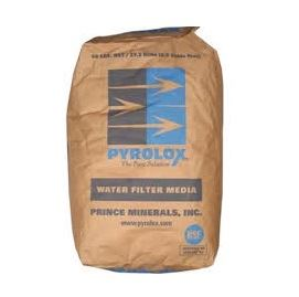 Złoże odżelaziające Pyrolox Fine, 0,4 - 0,8 mm, 27 kg