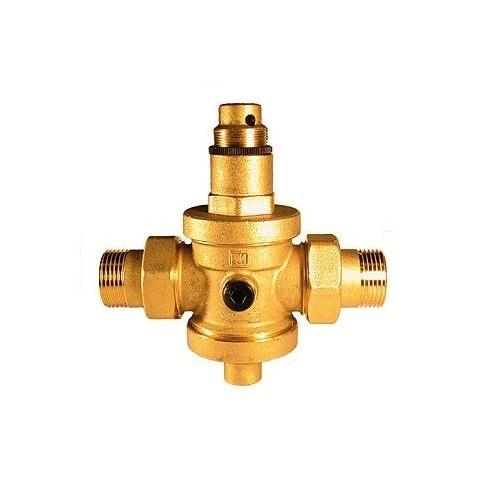 Reduktor ciśnienia wody Eurobrass z manometrem