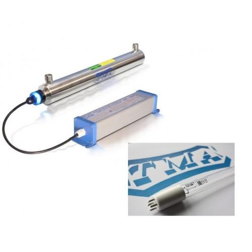 Lampa UV + promiennik V12