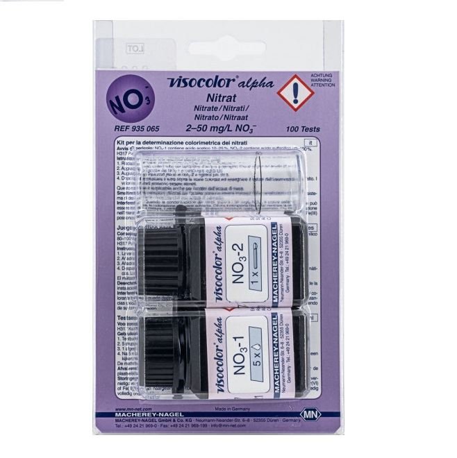 Test VISOCOLOR ALPHA Azotany 2-50 mg/l, 100 oznaczeń, MACHEREY-NAGEL