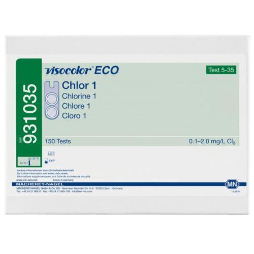 Test VISOCOLOR ECO Chlor wolny, ogólny 0,1-2,0 ml, MACHEREY-NAGEL