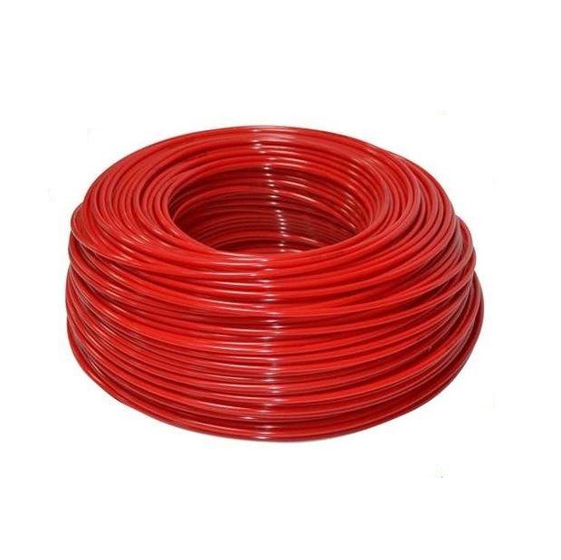 """Czerwony wężyk polietylenowy 1/4"""", KTPE14R, Aquafilter"""