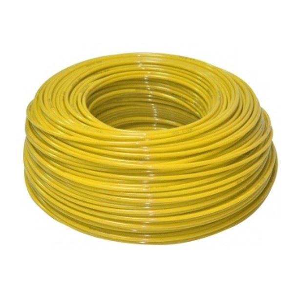 """Żółty wężyk polietylenowy 1/4"""", KTPE14Y, Aquafilter"""