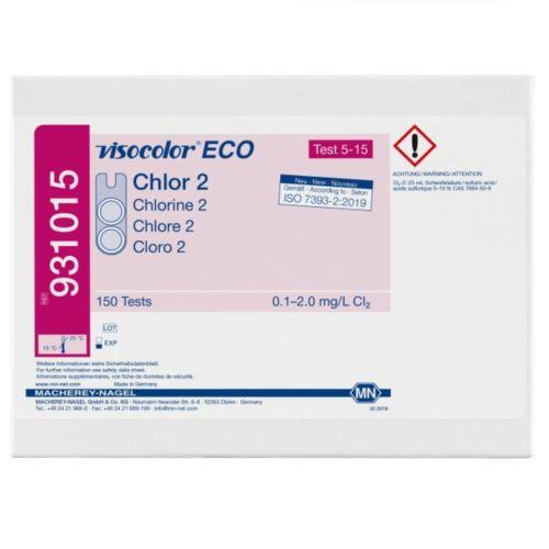 Test VISOCOLOR ECO Chlor wolny i ogólny 150 oznaczeń, MACHEREY-NAGEL