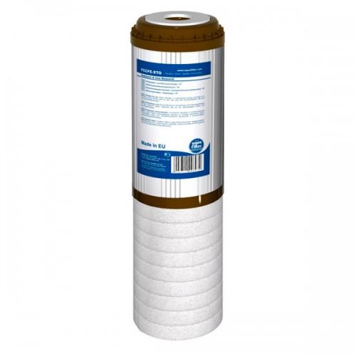 FCCFE-STO wkład dwustopniowy odżelaziający 10 cali, Aquafilter