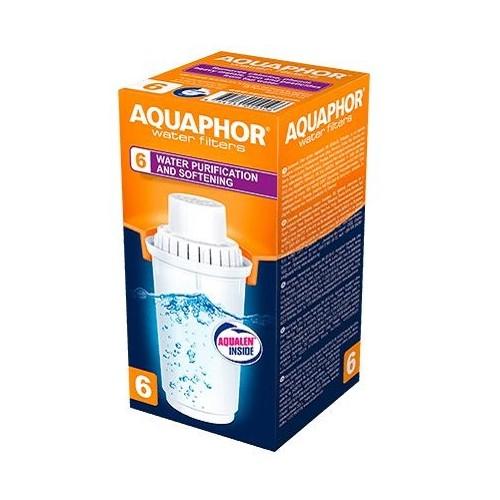 Wkład do dzbanków B6, do twardej wody, AQUAPHOR