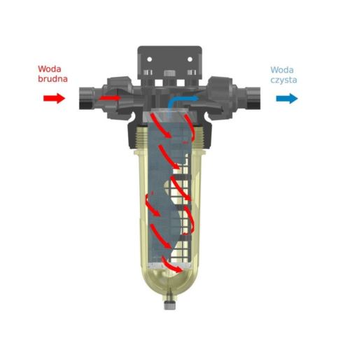 "Filtr przemysłowy Cintropur NW650, GW 2 1/2"""