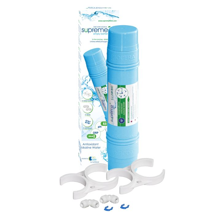 """Liniowy jonizator wody 11"""" x 2 1/2"""" SUPREME/BIOCER S-L-FIR-BIO"""