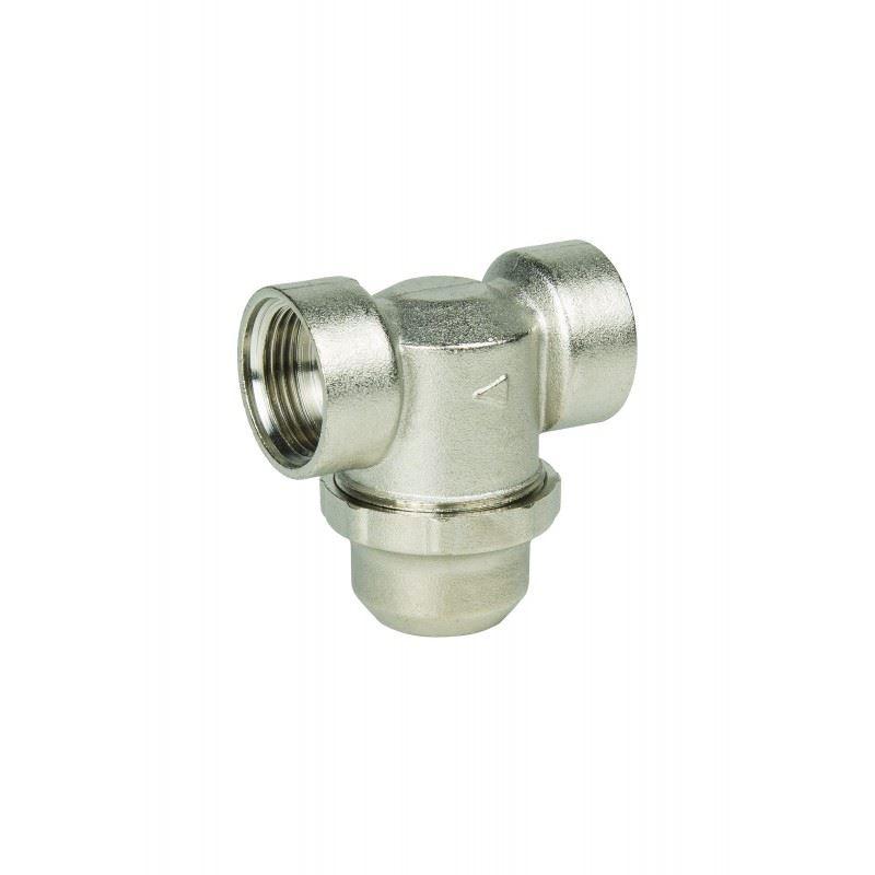 Mechaniczny filtr osadnikowy mosiężny, FHMC34FF,  AQUAFILTER