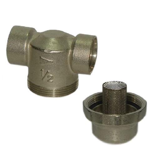 Mechaniczny filtr osadnikowy mosiężny, FHMC12FF,  AQUAFILTER