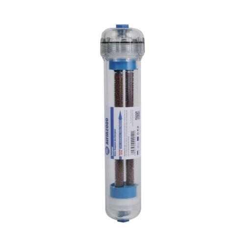 """AIFIR2000 - przezroczysty liniowy wkład z """"negative ion"""", o wydajności 2000 ni/cm3, AQUAFILTER"""