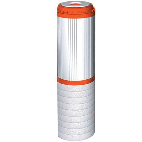 Wkład dwustopniowy polipropylenowo-węglowy 10 cali, FCCBHD-STO, Aquafilter