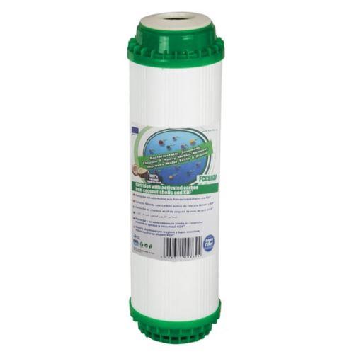 Wkład KDF bakteriostatyczny z węglem 10 cali, FCCBKDF, Aquafilter