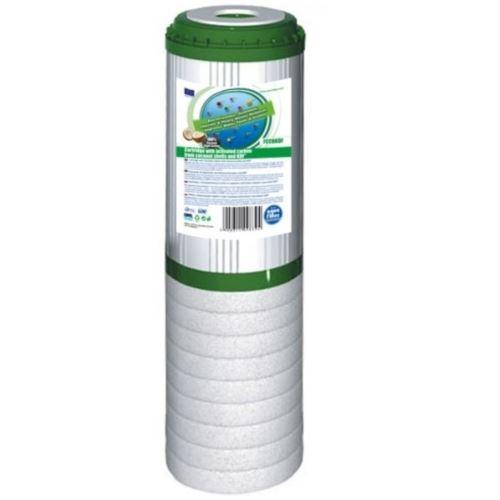 Wkład polipropylenowo-węglowy z  KDF 10 cali, FCCBKDF-STO, Aquafilter