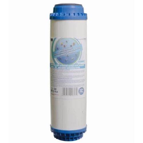 Wkład węglowo - zmiękczający z KDF 10 cali, AQUAFILTER