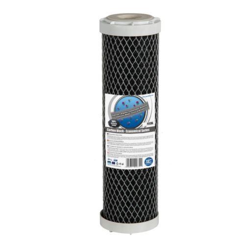 Wkład wysokiej gęstości blok węglowy 10 cali, AQUAFILTER