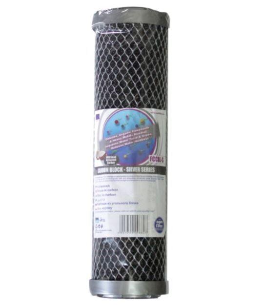 Wkład blok węglowy SERIA SILVER 10 cali, FCCBL-S, Aquafilter