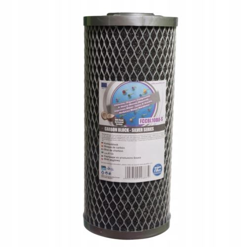 Wkład blok węglowy SERIA SILVER do 10 Big Blue, FCCBL10BB-S, AQUAFILTER